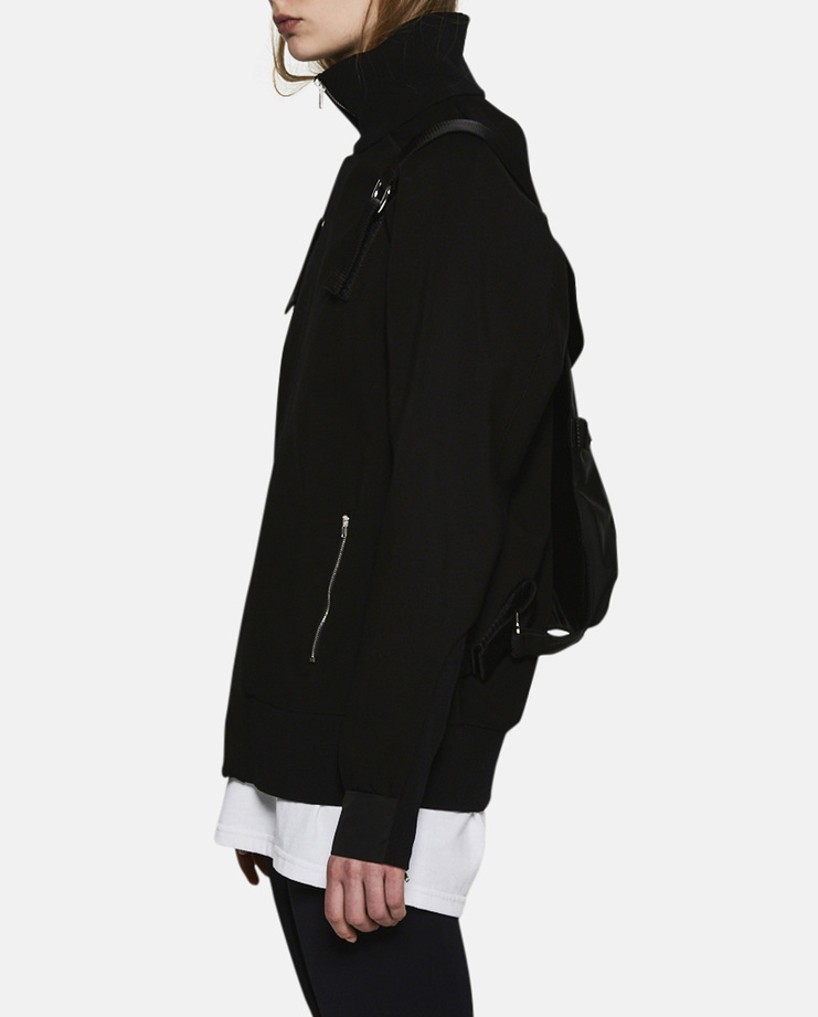 Alyx, Track Jacket With Removable Backpack, Menswear, Womenswear, Black, Jackets, Coats, New Arrivals, A/W 17
