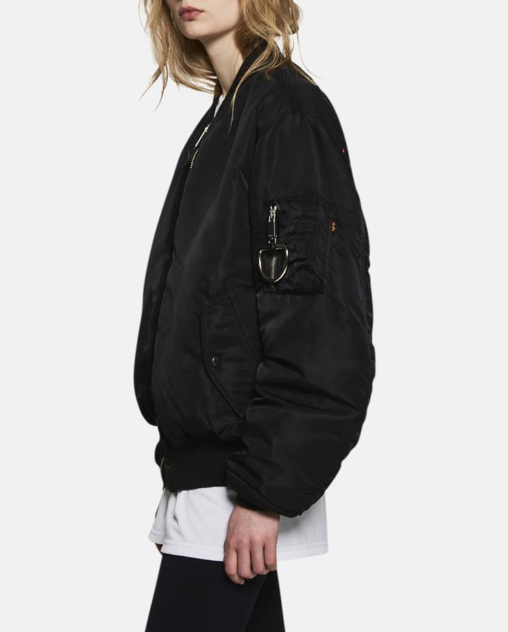 Alyx, E 1999 Eternal, MA-1 Bomber Jacket, Black, Womens, Jacket, Coat, Outerwear, New Arrivals, New Season, A/W 17