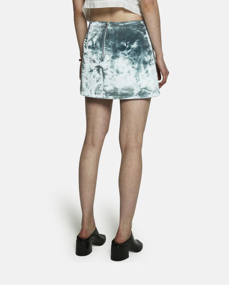 Y/Project, Baikal Mini Skirt, Y Project Mini Skirt, Y Project Skirt, Blue Skirt, Turquoise Skirt, Mini Skirts, New Mini Skirt, new Y/Project, New Arrivals, S/S 17