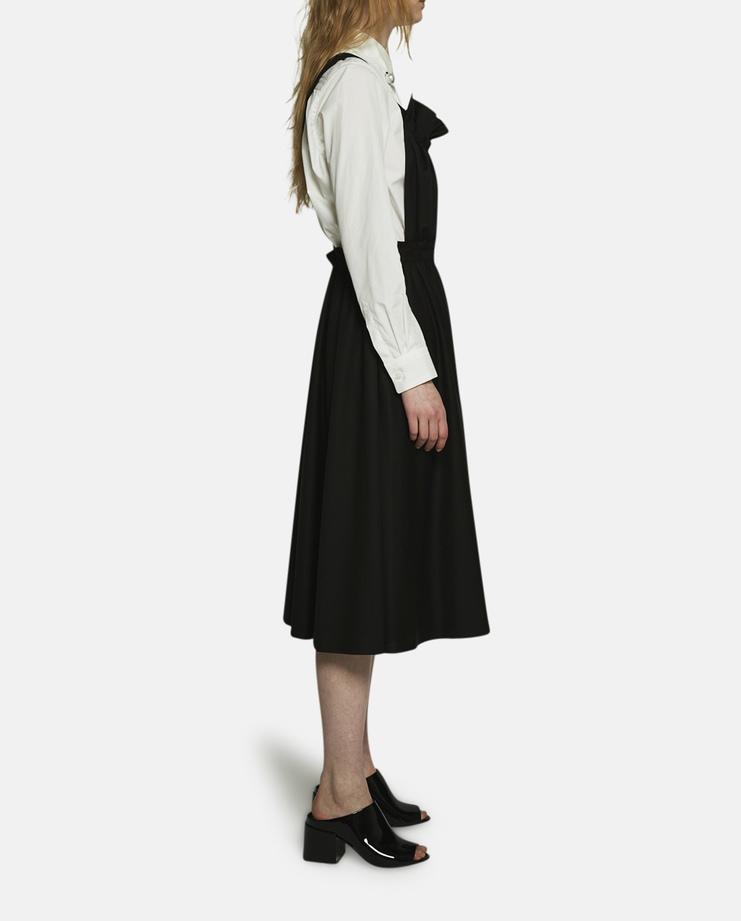 Noir Kei Ninomiya, Black Pinafore Dress, Black Dress, Black Pinafore, CDG, Noir Kei Dress, Kei Ninomiya Dress, SS17