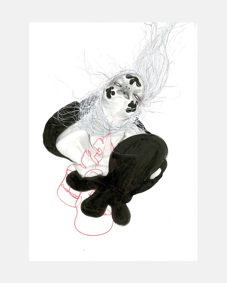 Jowy Maasdamme, Simone Rocha A/W 15 , Fashion Flora, SHOWstudio