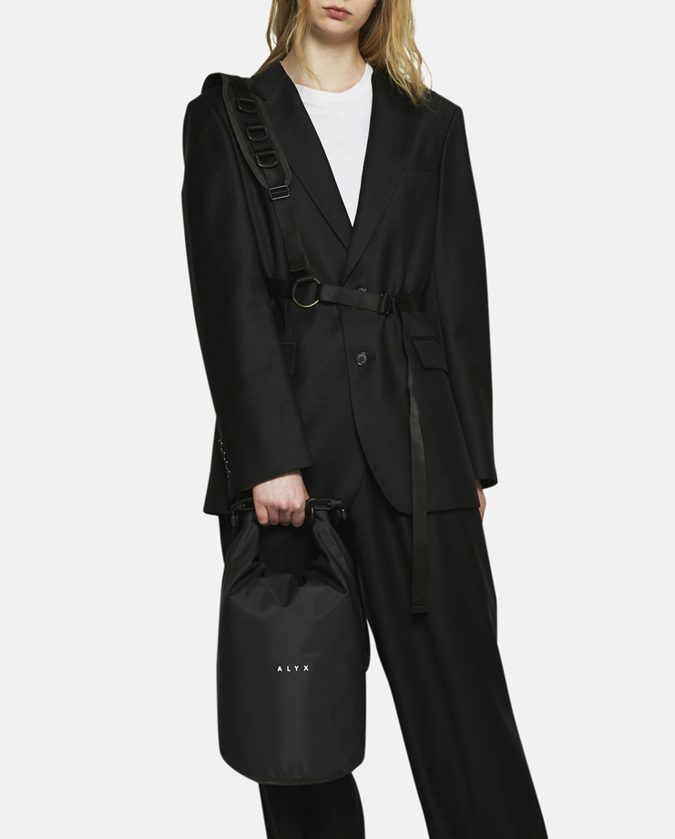 Alyx, Mini Dry Bag, Black, Black Bag, Black Alyx Bag, SS17
