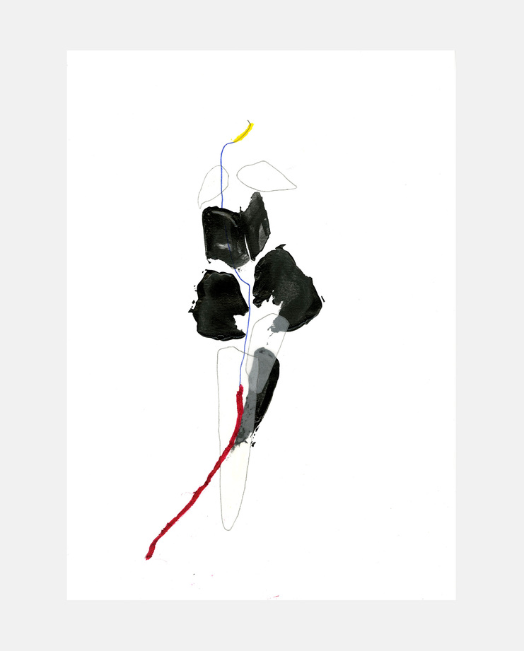 Lara Mackenzie Lee, Christian Dior Haute Couture 1997, Fashion Flora, SHOWstudio