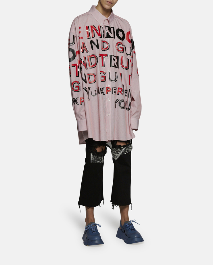 Marg, Margiela, Matrin, Maison, Galliano, Maison Marg, Maison Margiela, Long Sleeve, Shirt ss17, defile Oversized, unisex