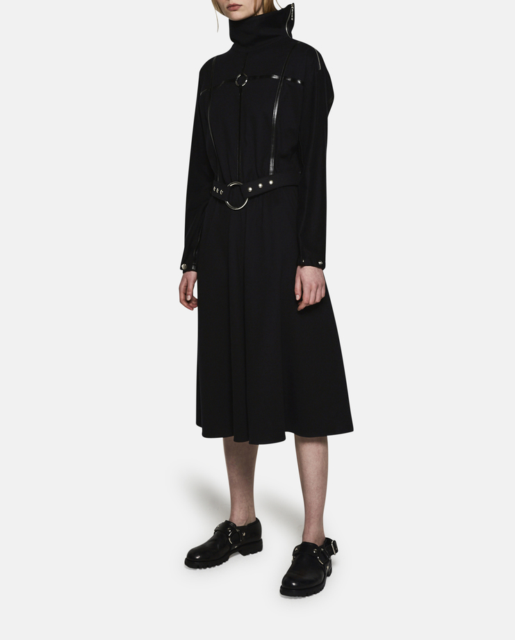 Alyx, Bondage Dress, Black, Womens, Dresses, New Arrivals, AW17