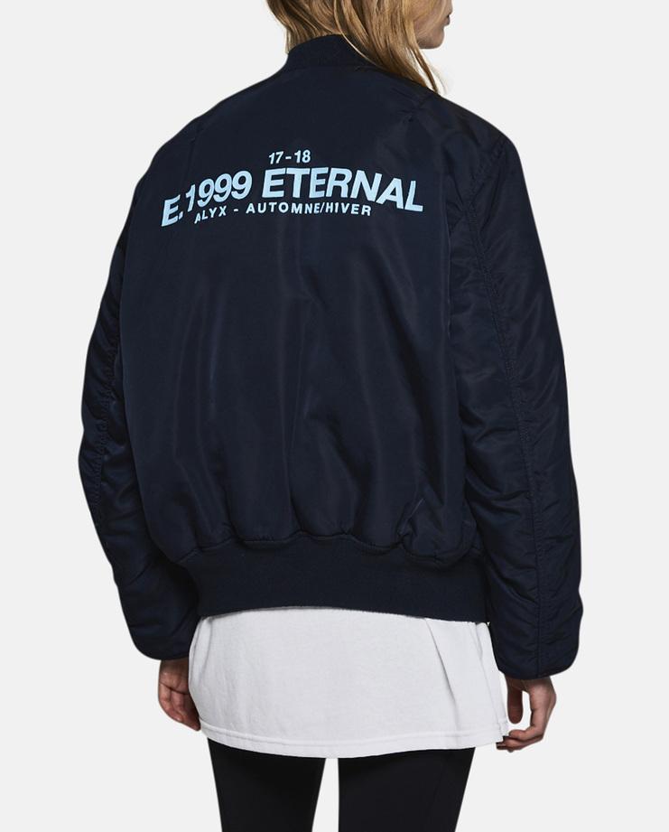 Alyx, E 1999 Eternal MA-1 Bomber Jacket, Alyx Jacket, Alyx Bomber, MA-1, Jackets, Coat, Unisex, New Arrivals, AW17