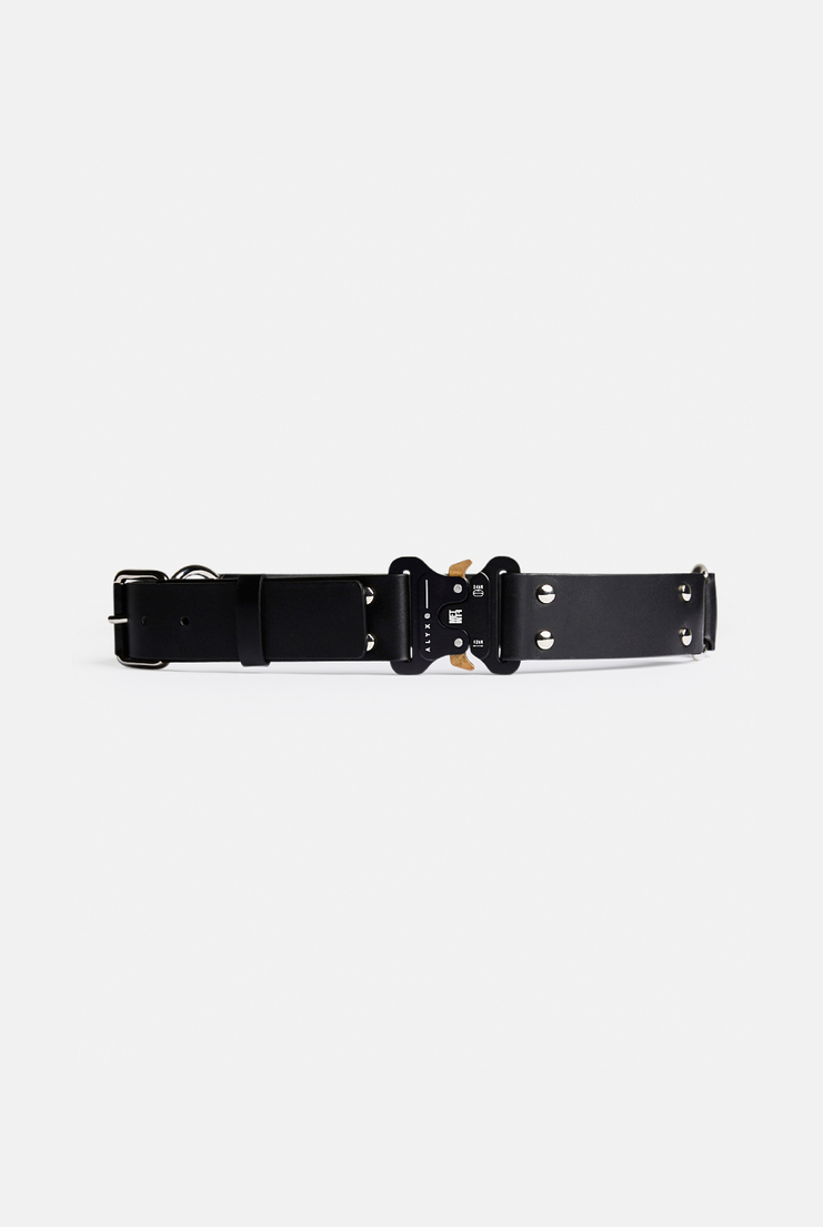 Alyx, Leather Rollercoaster Belt, Black, Accessories, Accessory, New Arrivals, AW17