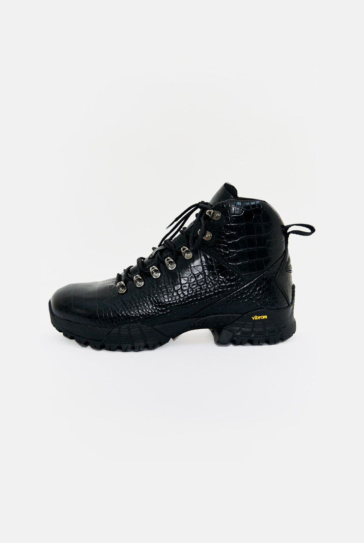 Alyx, Croc Hiking Boot, Shoes, Mens Accessories, Accessories, Accessory, Black, New Arrivals, AW17