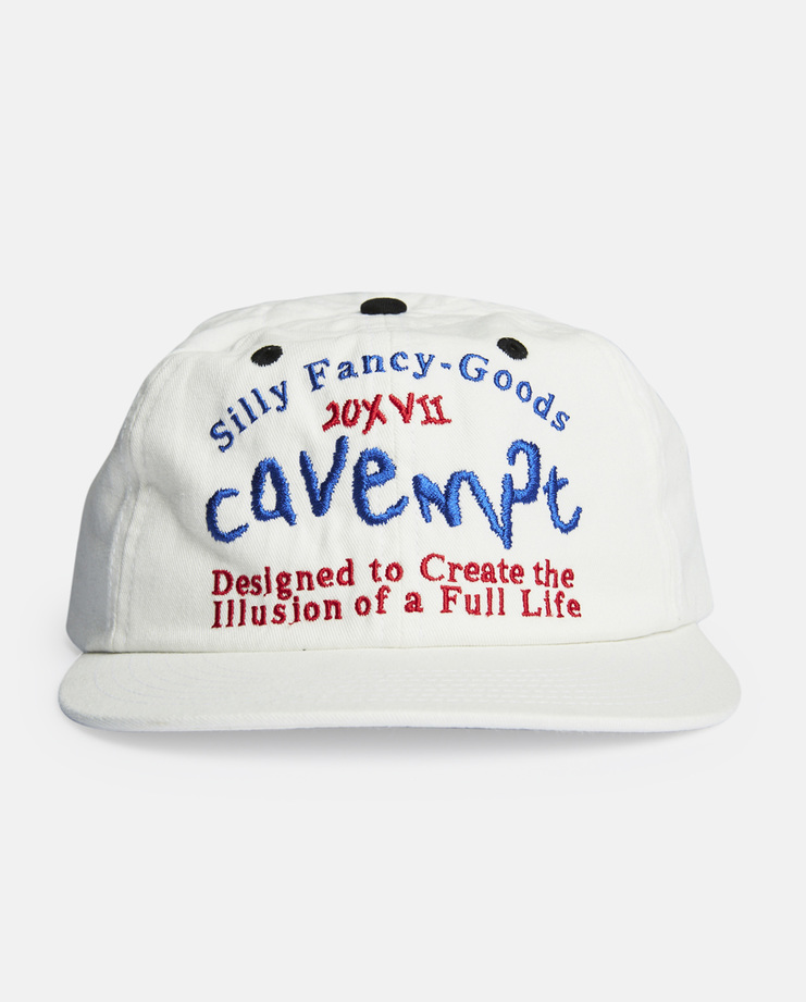 Cav Empt, Silly Fancy Goods Cap, White, Hat, Accessories, Mens, Accessory, SS17, S/S 17, New Arrivals