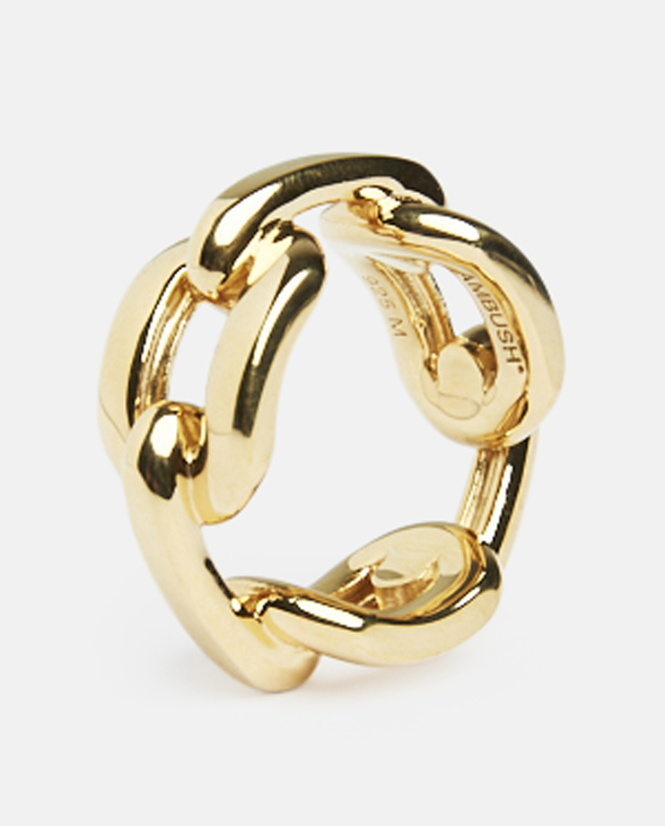 Ambush, Chain Ring, Gold, 925 Sterling Silver, Unisex, Accessories, Jewellery, New Arrivals, S/S 17, SS17
