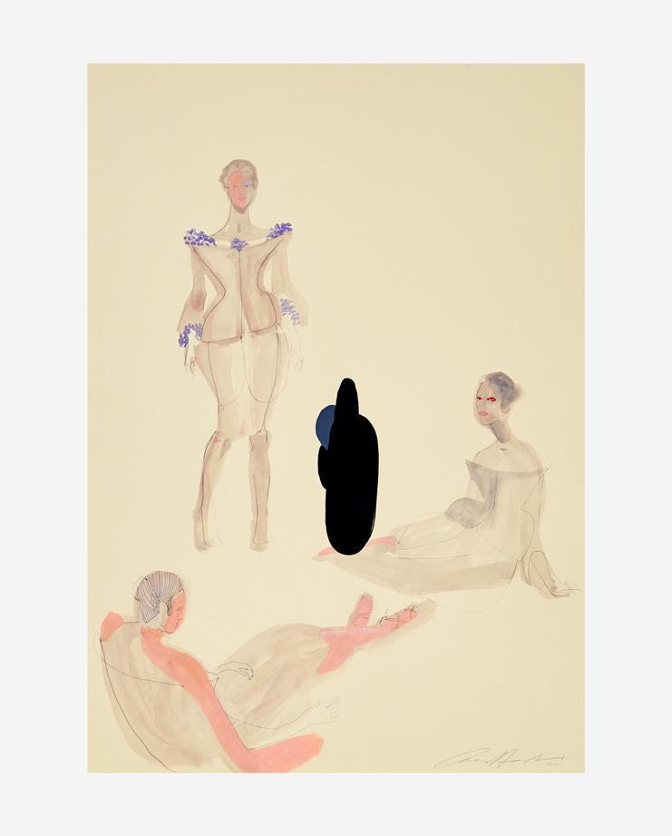 Alexander McQueen's S/S 07, Amelie Hegardt, Fashion Flora, SHOWstudio