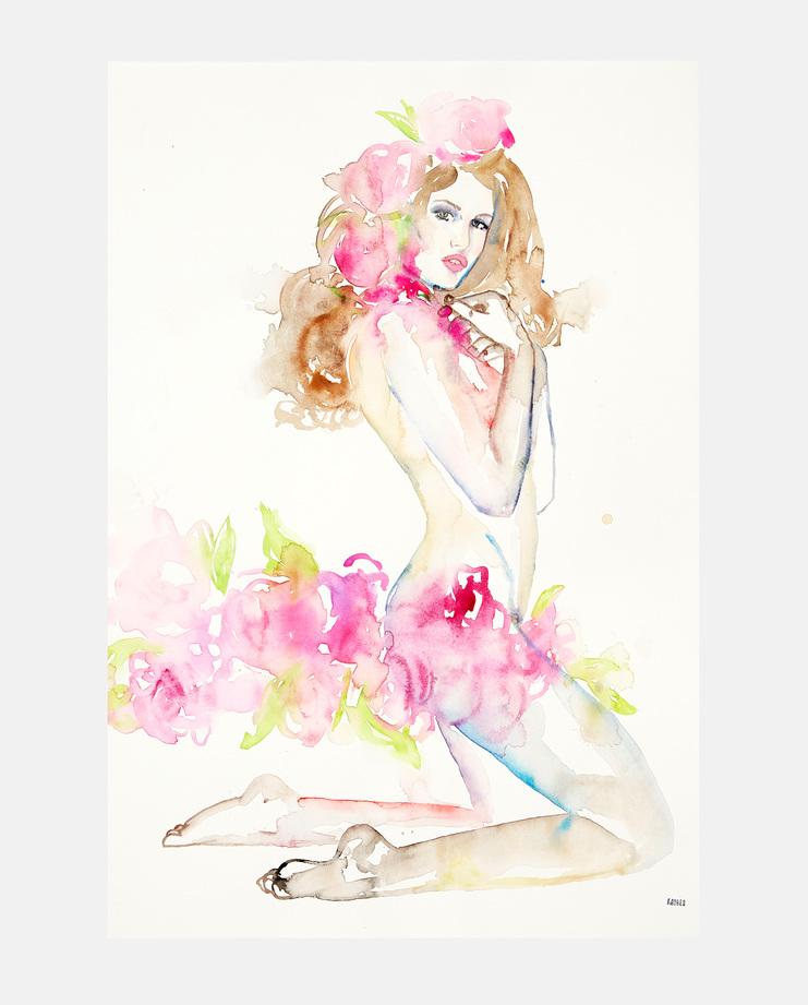Fahren Feingold, Yves Saint Laurent S/S 99 collection, Fashion Flora, SHOWstudio