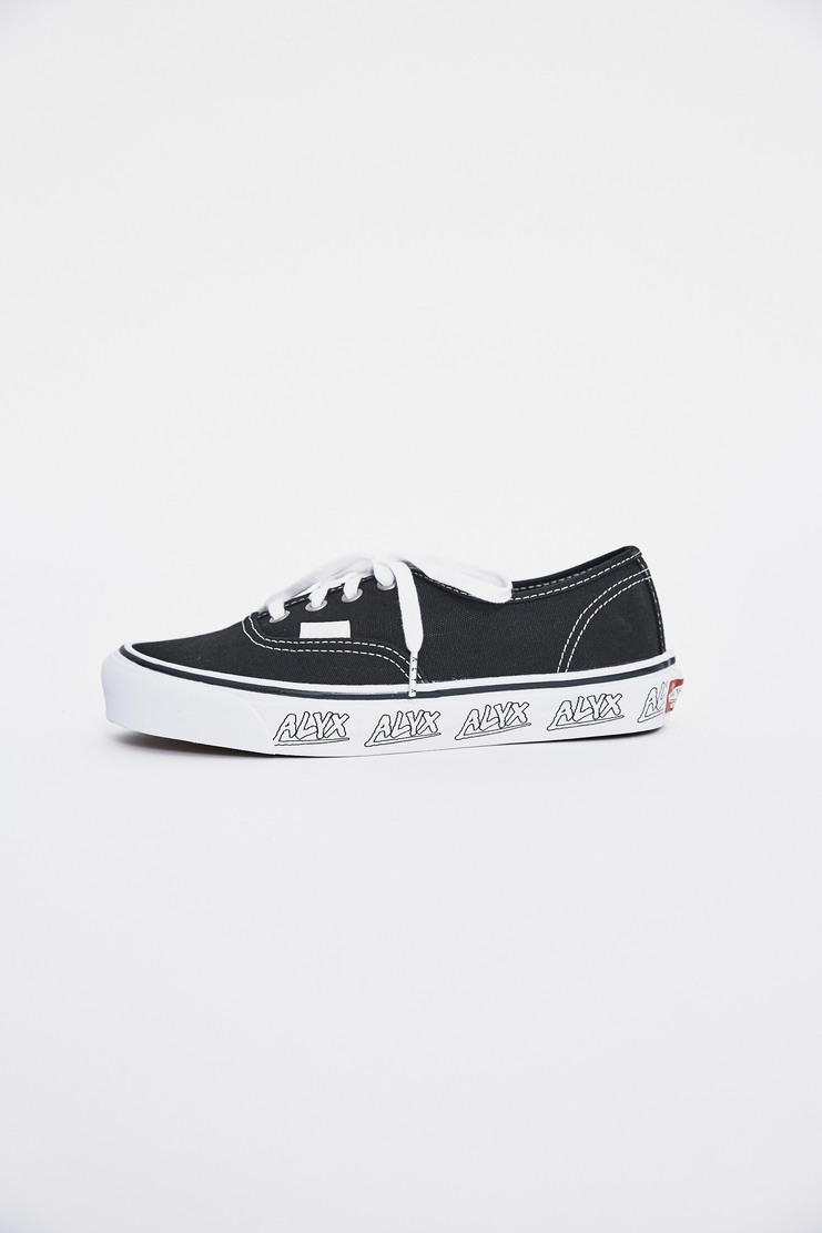 ALYX, Vans, OG Authentic LX, Unisex, Trainers, Shoes, Skate, Collaboration, Black, White, SS17