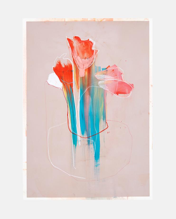 tulips, rob phillips, fashion illustration, showstudio, fashion flora, flora starkey