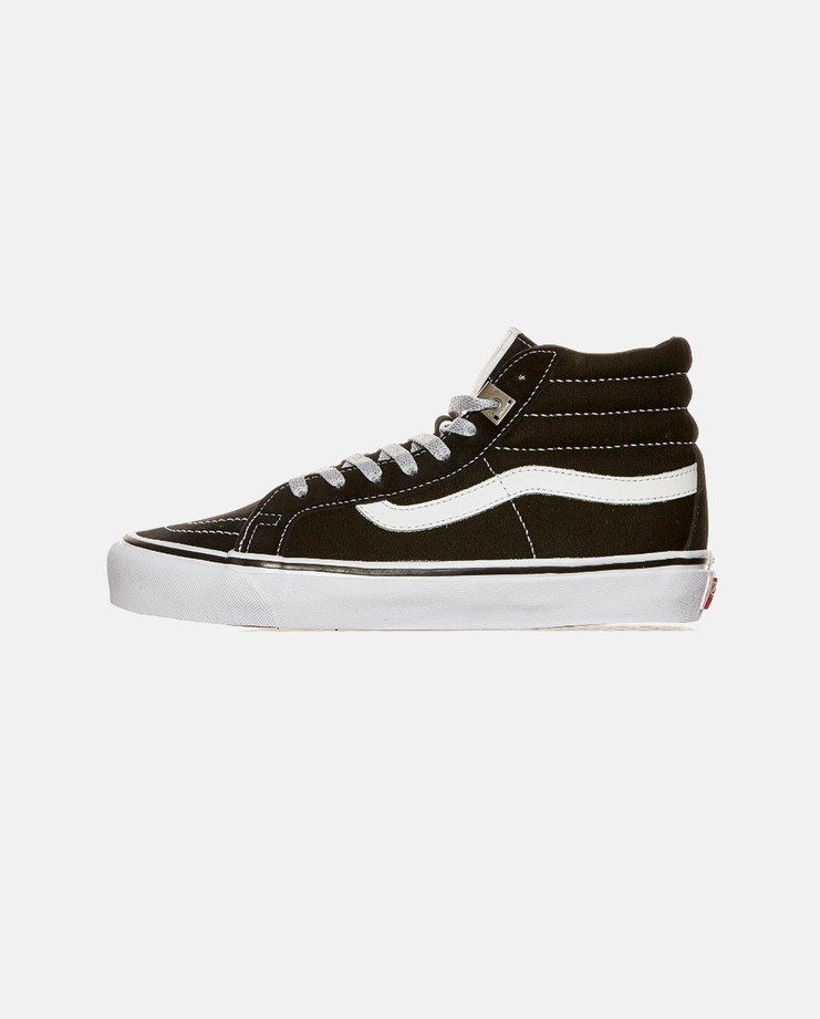 ALYX, Vans, OG SK8 Hi, Black, White, Silver, Unisex, SS17, Shoes, Trainers, Skate, Matthew Williams, Aleeks