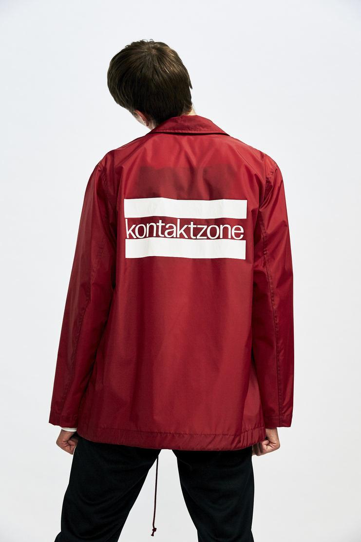 John Lawrence Sullivan Coach AW 17 Autumn Winter 17 Japan kontaktzone contact zone jacket rain coat wind waterproof sports red