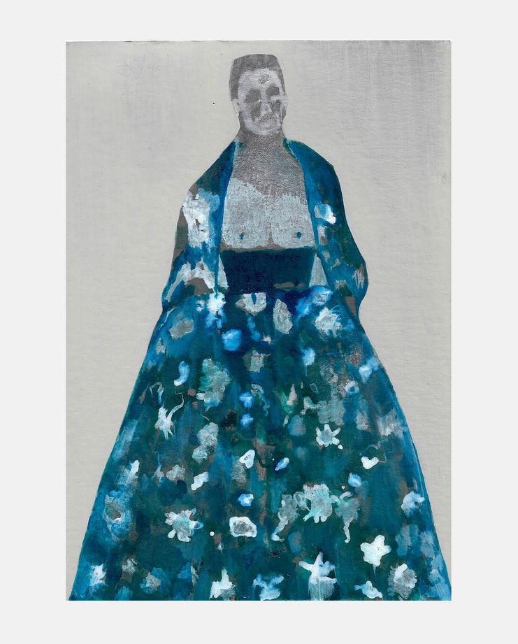 Sally Bourke, Edward Crutchley Menswear S/S 18, SHOWstudio, fashion illustration, London Menswear