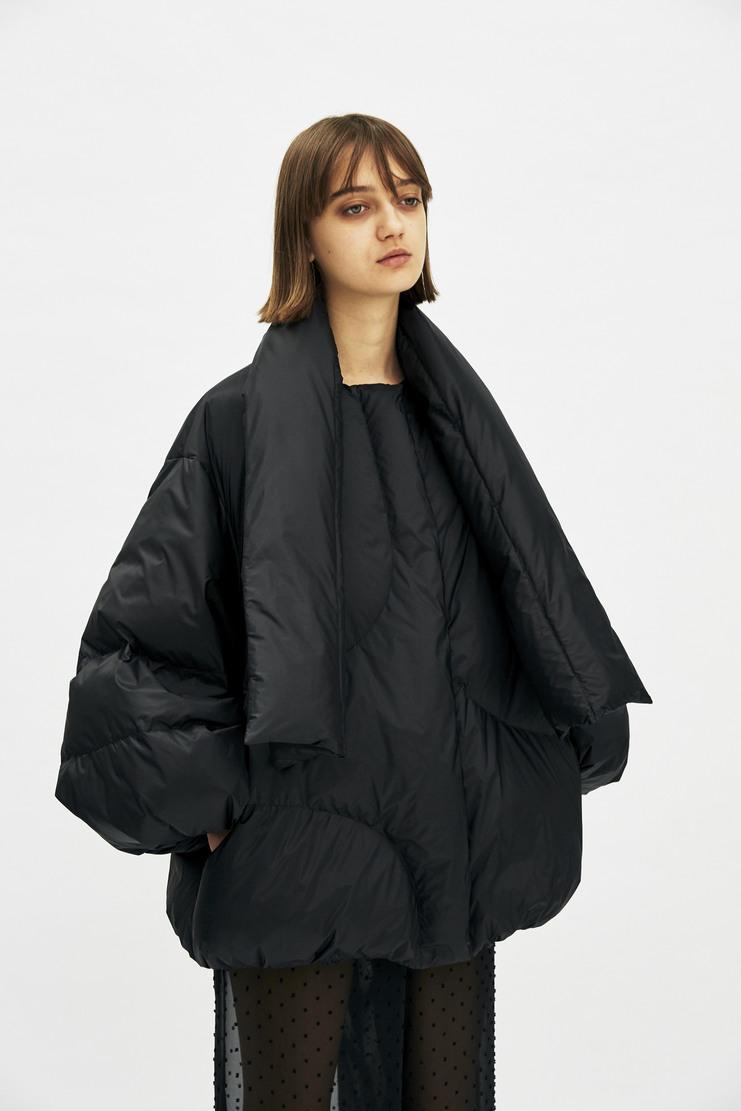 Maison Margiela - Sports Puffer Coat Black Jacket Galliano Maison Martin Margiela MMM aw17 A/W17
