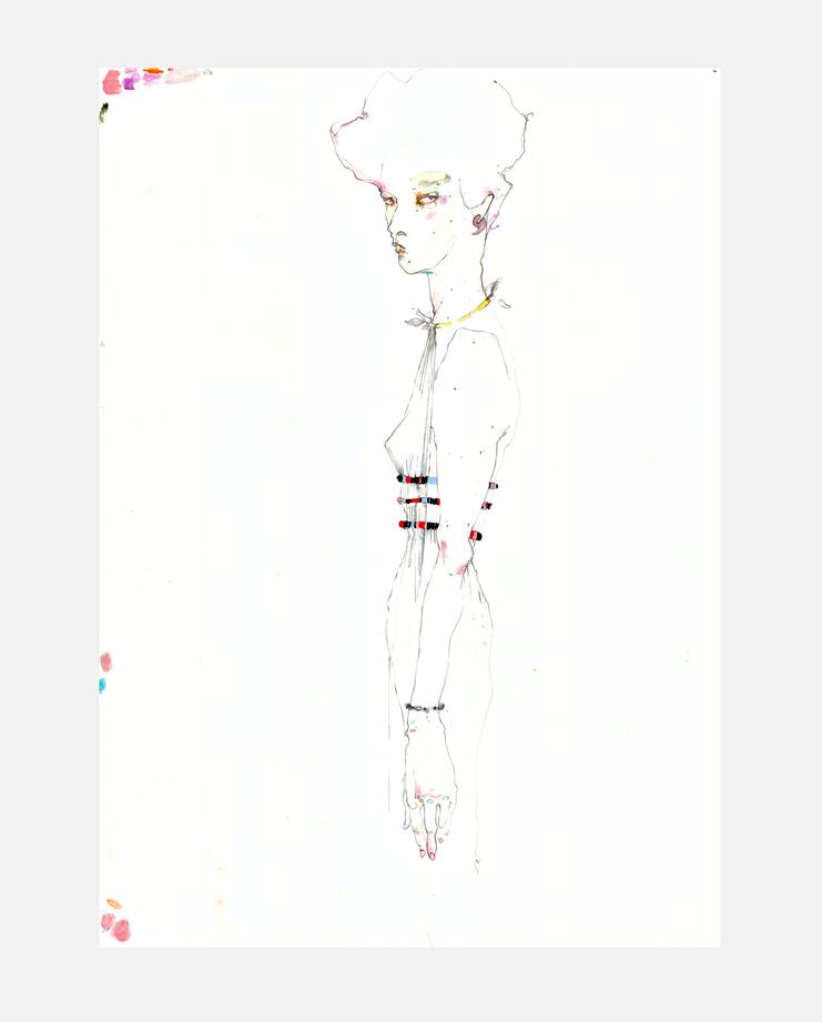 Valentino S/S 16, SHOWstudio, Rob Phillips, Fashion Illustration
