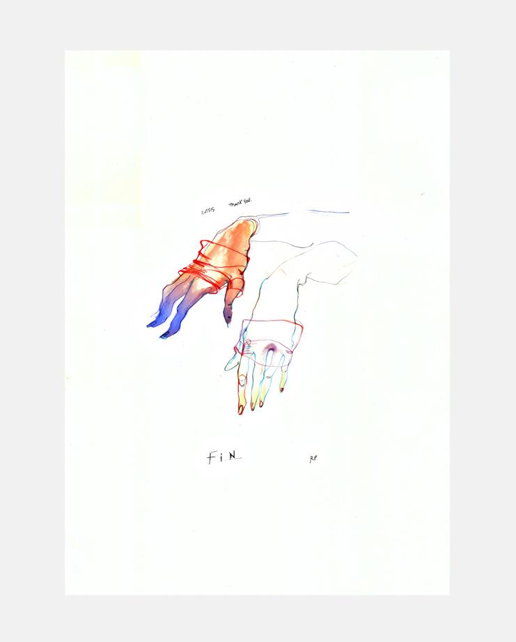 Louis Vuitton S/S 16, SHOWstudio, Rob Phillips, Fashion Illustration