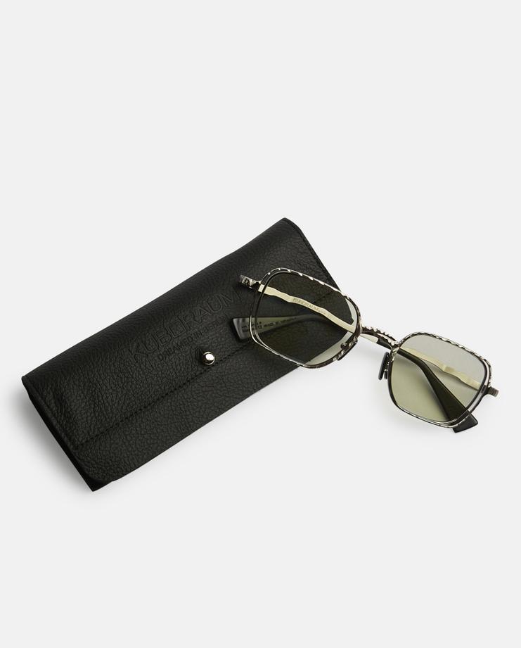 Kuboraum 'H12' Sunglasses German Berlin Menswear Womenswear Sunglasses Glasses Accessories Contemporary Fashion Designer New Collection New Arrivals Autumn Winter 17 AW17 Silver Acetate