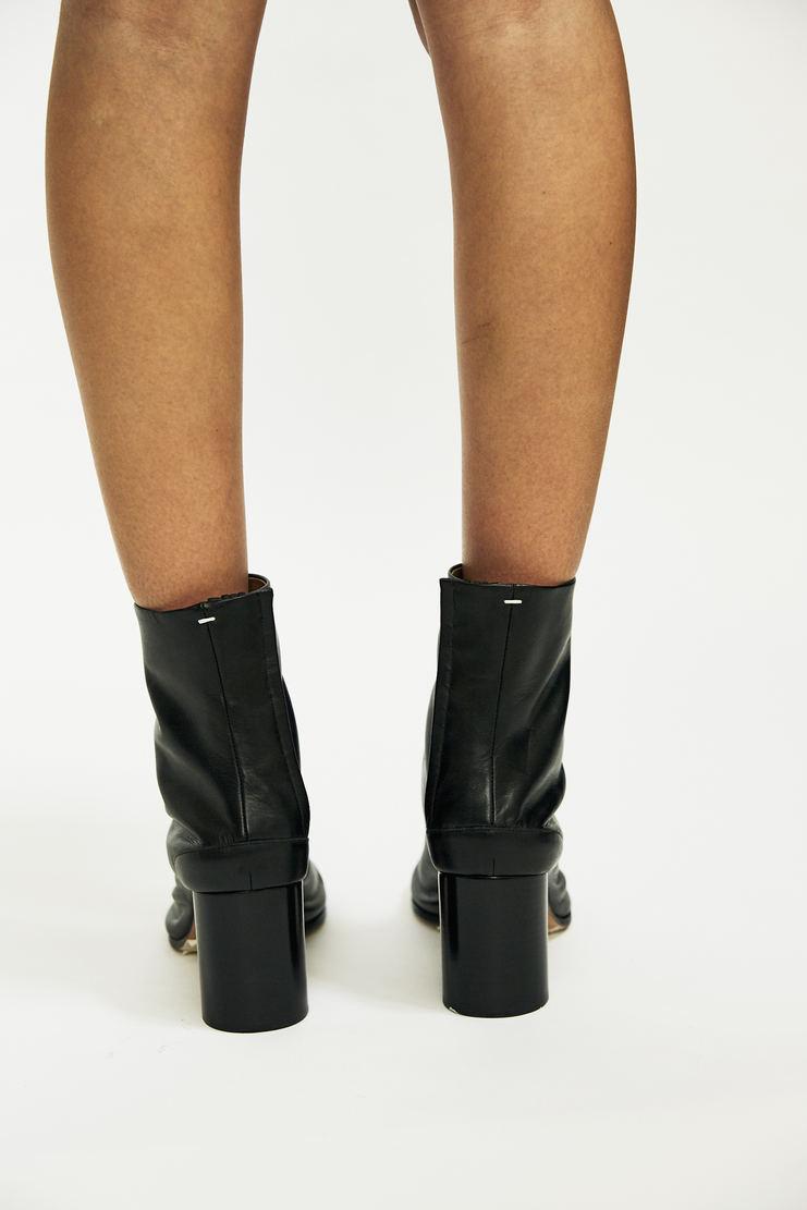 Maison Margiela - Tabi Ankle Boots iconic signature aw17 black shoes camel toe a/w17 galliano leather