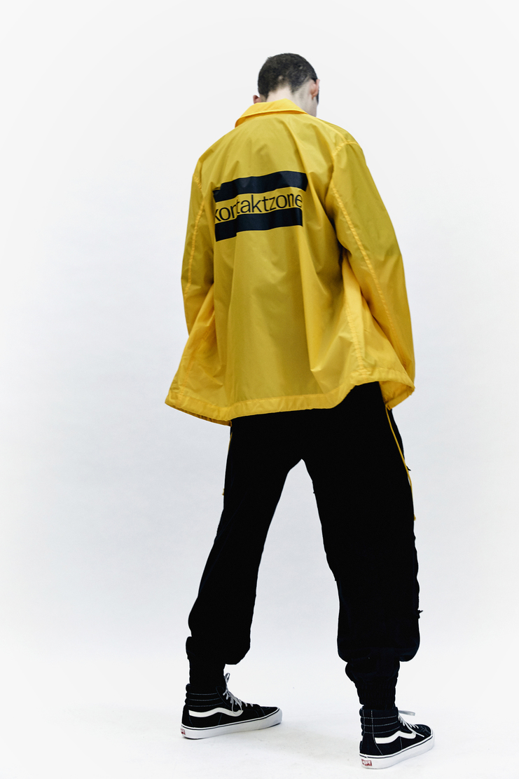 John Lawrence Sullivan Coach AW 17 Autumn Winter 17 Japan kontaktzone contact zone jacket rain coat wind waterproof sports Arashi Yanagawa