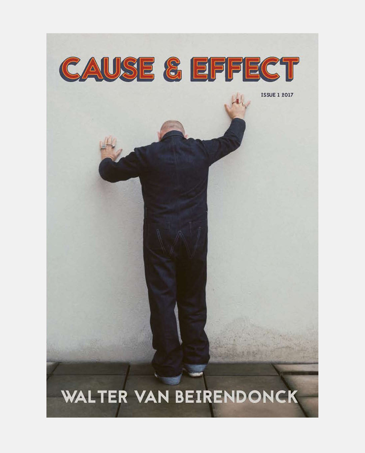 Issue 1 | Walter Van Beirendonck, Cause & Effect Magazine