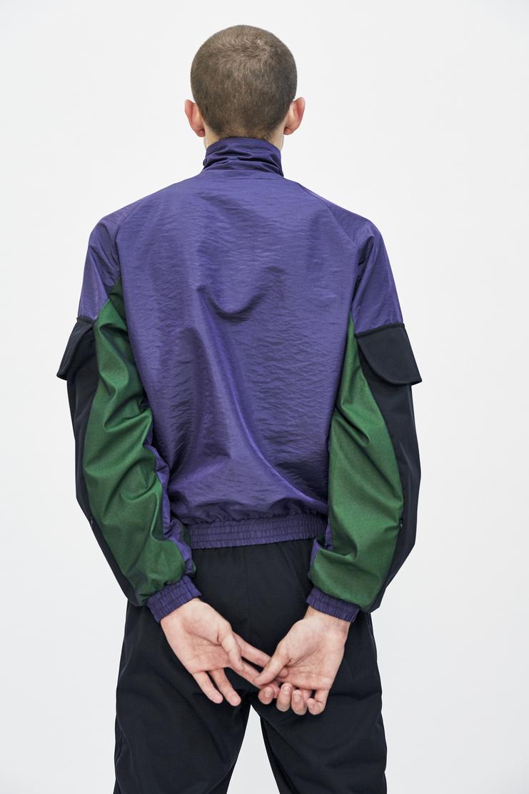 cottweiler purple utility tracktop top track jacket longsleeve aw17 a/w 17 cotweiler cotweiller