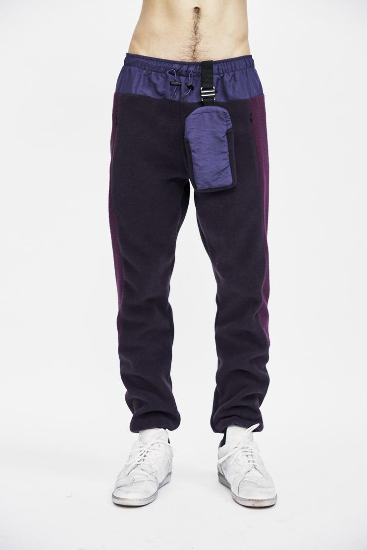 cottweiler purpletrek fleece trackpants joggers bottoms trousers detachable pouch bag aw17 a/w 17 cotweiler cotweiller