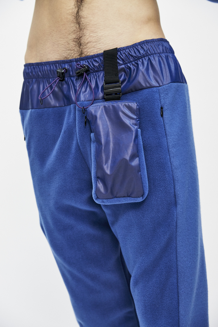 cottweiler lilac trek fleece trackpants joggers bottoms trousers detachable pouch bag aw17 a/w 17 cotweiler cotweiller