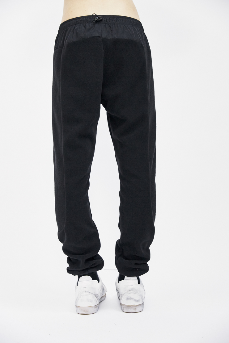 cottweiler black trek fleece trackpants joggers bottoms trousers detachable pouch bag aw17 a/w 17 cotweiler cotweiller