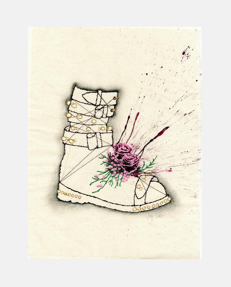 Jenifer Corker,  J.W. Anderson A/W 10 , Fashion Flora, SHOWstudio
