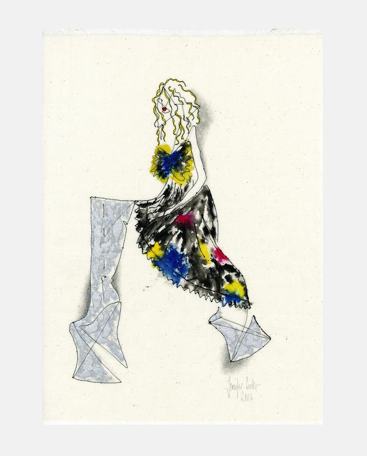 Jenifer Corker, Molly Bair, styleshootdraw, showstudio, fashion illustration, garage magazine