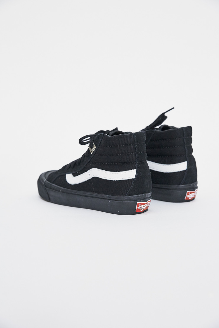 ALYX x Vans OG 138 SK8-Hi AW17 Matthew Williams Trainers Footwear Unisex Black Lighter Skate High