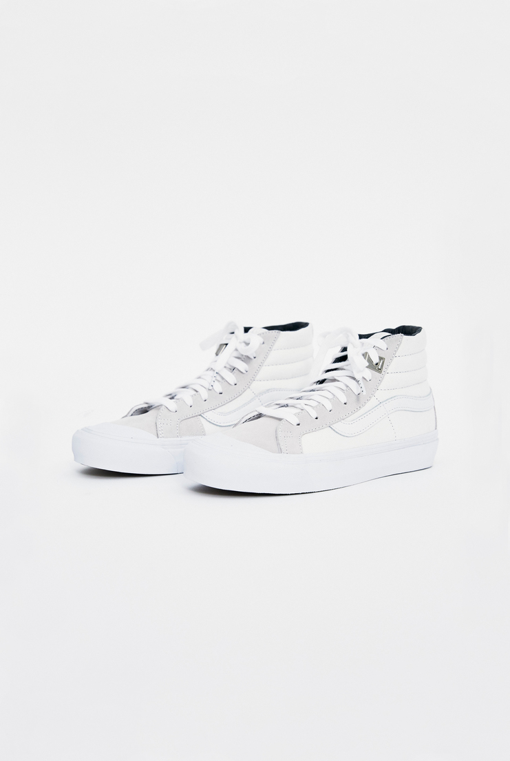 ALYX x Vans OG 138 SK8-Hi AW17 Matthew Williams Trainers Footwear Unisex White Lighter Skate High