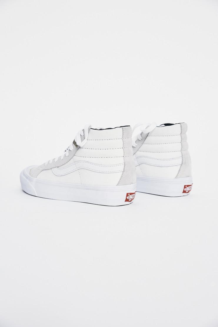 ALYX x Vans OG 138 SK8-Hi AW17 Matthew Williams Trainers Footwear Unisex White Lighter Skate High
