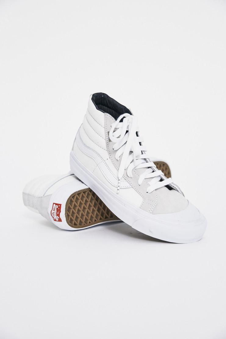 ALYX x Vans OG 138 SK8-Hi Trainers AW17 Matthew Williams Trainers Footwear Unisex White Lighter Skate High