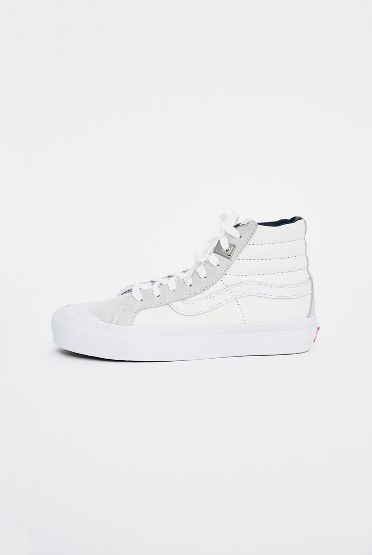 ALYX x Vans OG 138 SK8-Hi Trainers AW17 Matthew Williams Trainers Footwear Unisex White Lighter Skate High