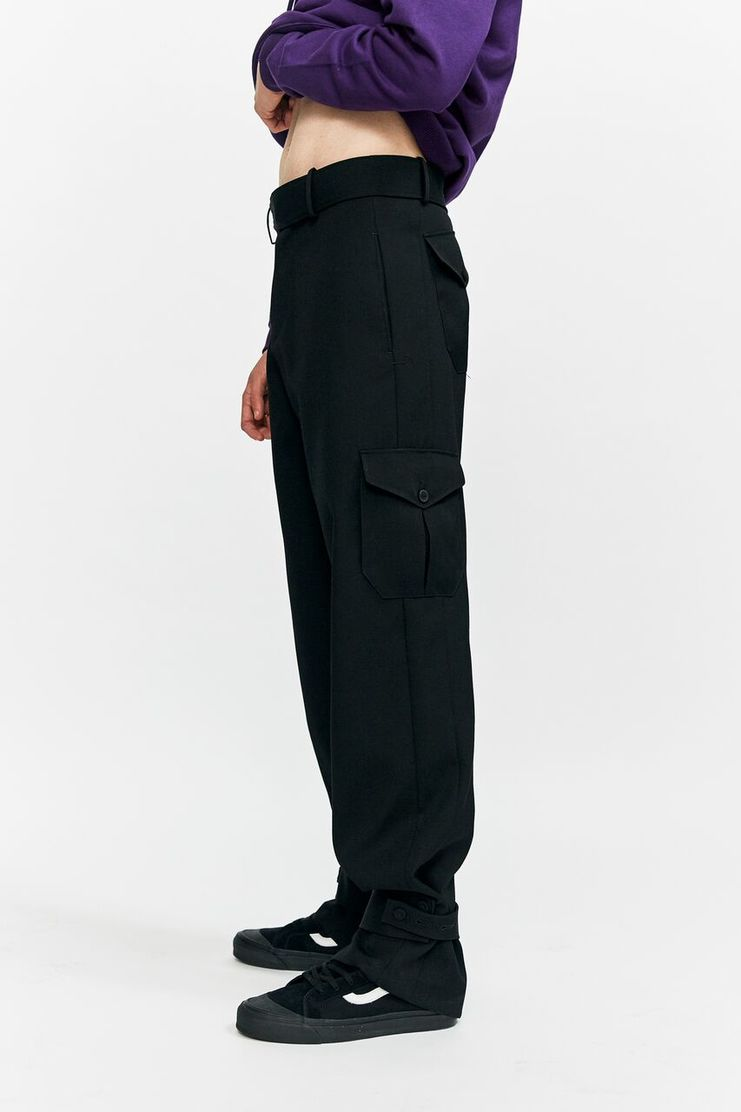 j.w. anderson jw anderson aw 17 a/w 17 aw17 trousers strapped black cuffs pockets