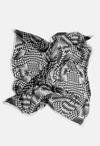 Monochrome Print Scarf