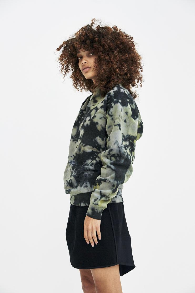 Ollinger Tie Dye Knot Sweater AW17 A/W 17 Otolinger Green Jumper Sweatshirt