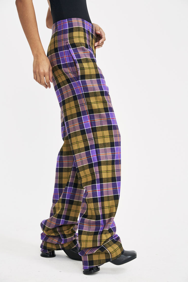 Ottolinger Loose Suit Pants AW17 A/W 17 Otolinger Tartan Check Trousers