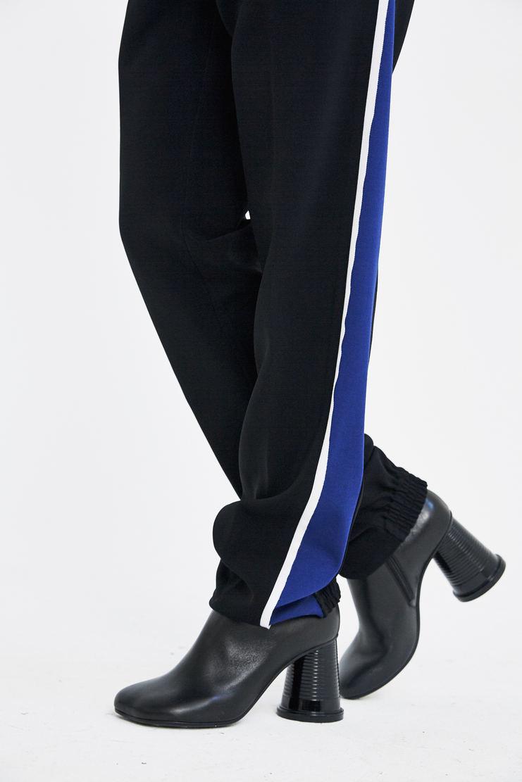 Tim Coppens Side Stripe Lounge Pants striped sweatpants track pants trousers sportswear black blue white a/w 17 aw17
