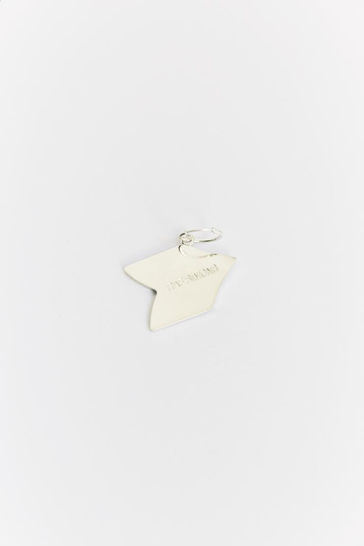 Raf Simons Arrow Earring AW17 A/W 17 Simmons Jewellery Silver