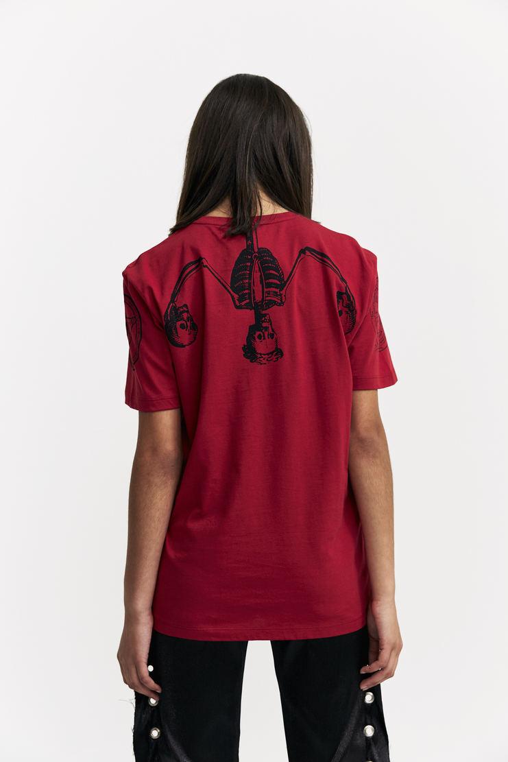Dilara Findikoglu Marilyn Manson T-shirt top short sleeve printed gothic a/w 17 aw 17 Dilara Findicoglu