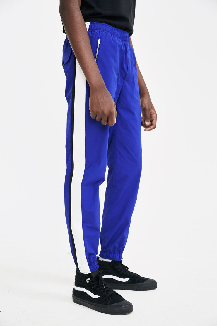 Tim Coppens Blue Lux Joggers tracksuit pants trousers trackpants a/w17 aw17