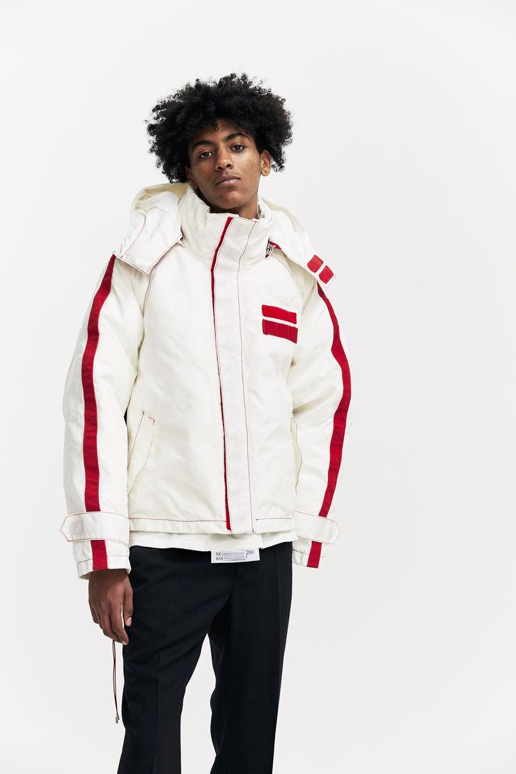 KANGHYUK Goosedown Cropped Parka AW17 A/W 17 KANGYUK Coat Jacket South Korea