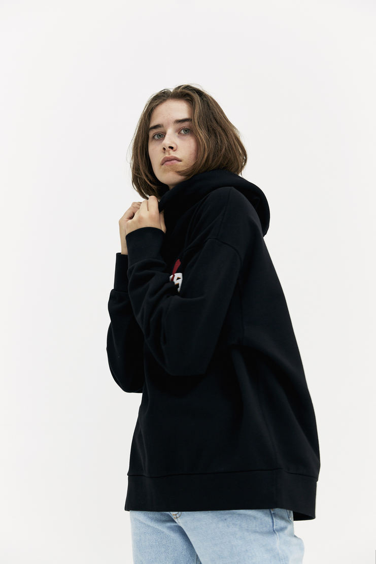 ARIES Claw Hoodie AW17 A/W 17 Arise Hoody Hooded Pullover Black Logo