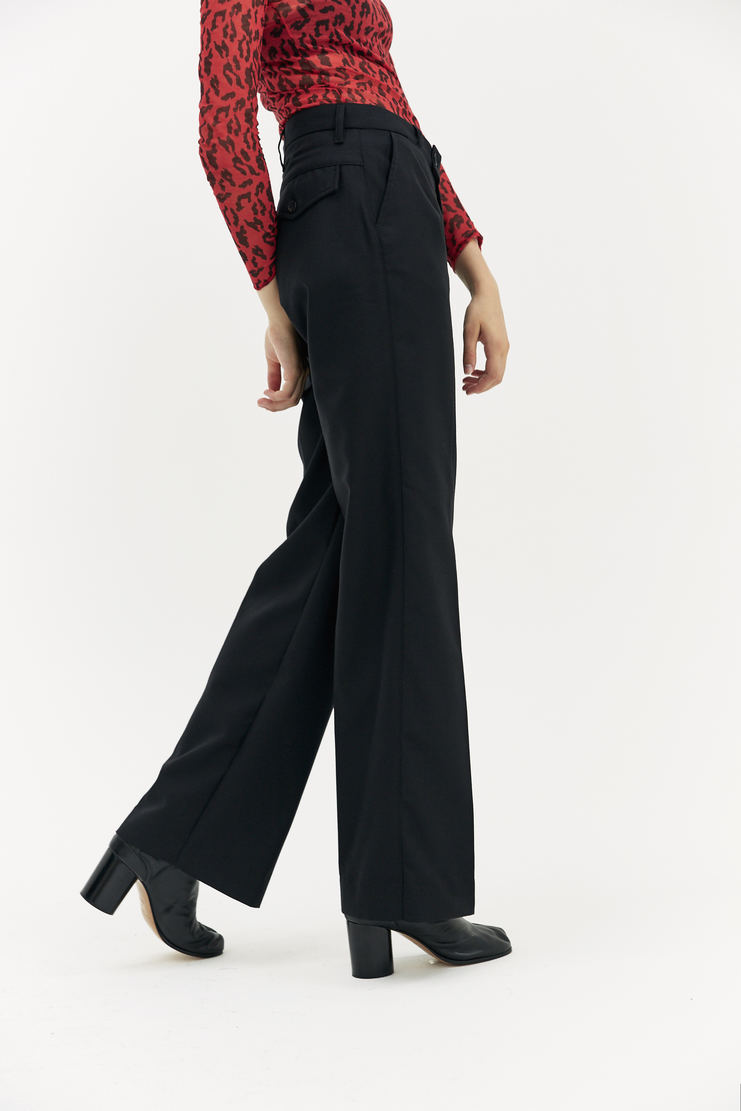 ARIES Black Tailored Trousers A/W17 AW17 Arise Pants Black